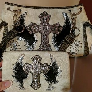 Handbags - Never used purse with matching wallet